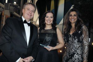Graham Pennington, Sarah Bullock and Sameena Ali-Khan