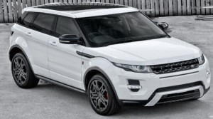 Land Rover Evoque with Webasto in situ