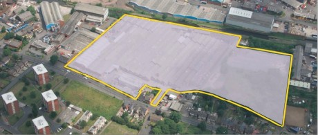 Whitehall Road Tipton site