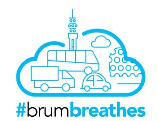 Brum Breathes logo