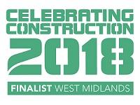 Celebrating Construction finalist button 2018
