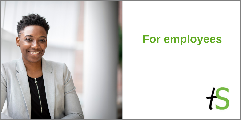 For employees banner