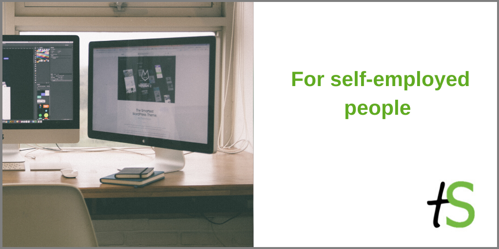 For self-employed people banner