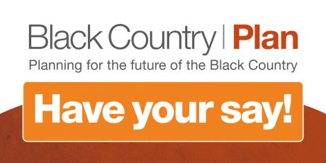 """Black Country Plan graphic with the text """"Have your say!"""""""