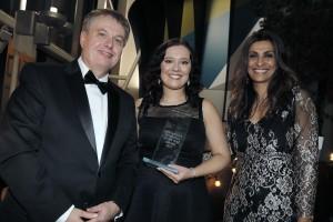 Graham Pennington, Sarah Bullock and Sameena Ali-Khan