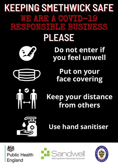 Keeping Smethwick safe poster