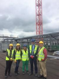 Sandwell Business Ambassadors visit to MMH