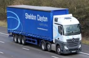 Sheldon Clayton lorry