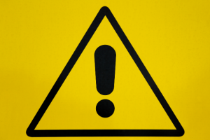Stay alert symbol