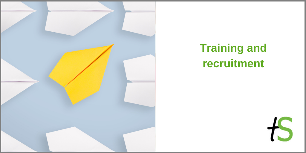 Think Sandwell training and recruitment banner_paper aeroplanes