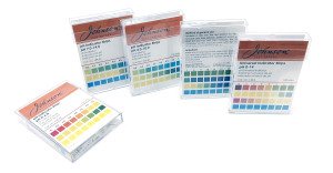 pH strips from Johnson Test Papers